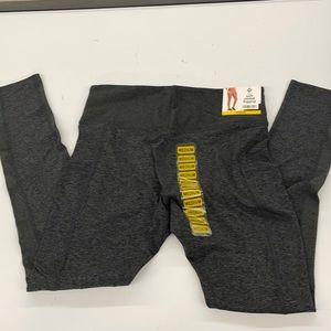 New Member's Mark soft pocket leggings dark gray M